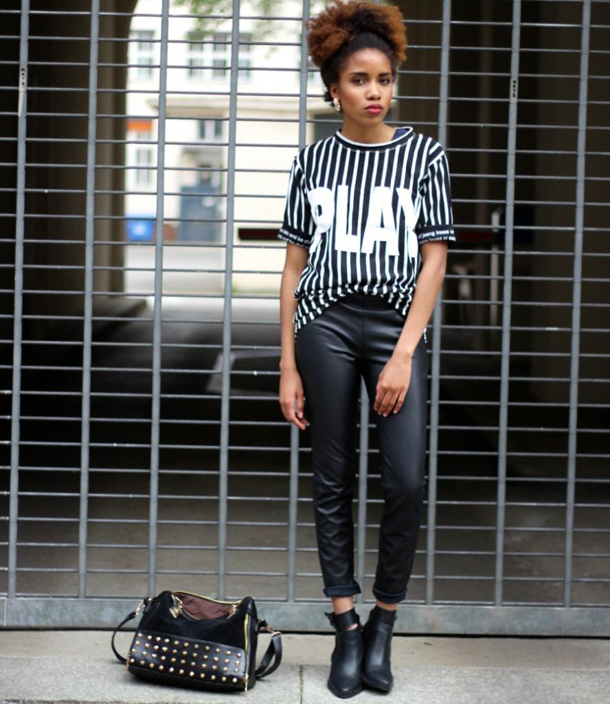Outfit Lederhosen Kombinieren Mode Blog Berlin Blogazine