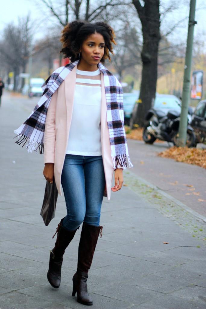 Outfit Braune Stiefel Kombinieren Mode Blog Berlin Blogazine