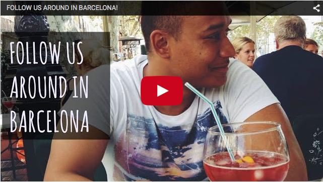 Follow us around in Barcelona