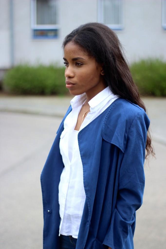 blauer mantel, blue coat, frühlingsmantel, frühlingsjacke, blaue Jacke, blauen Mantel, spring coat, spring trend 2015
