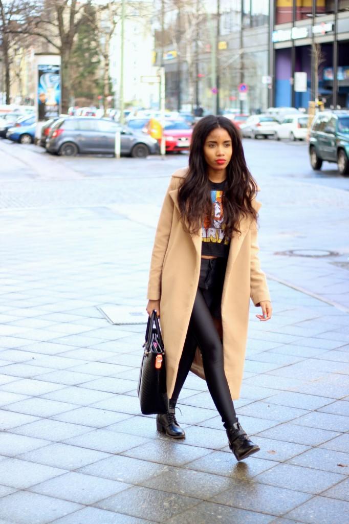 disco pants, camel coat, fall weather, fall coats, fashion germany, german blog, german fashionblog, Mode Blog Deutschland, Fashion Blog Berlin