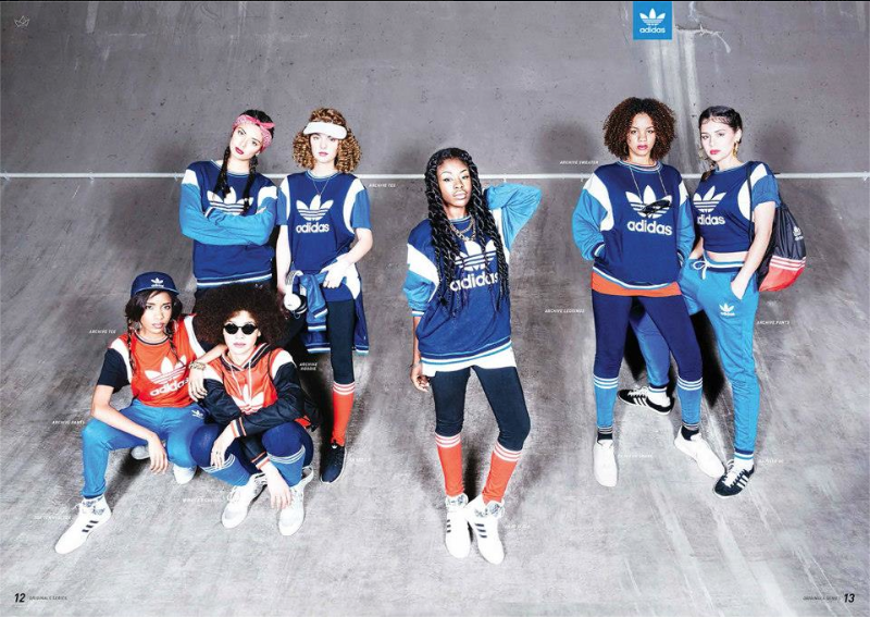 Adidas Originals Campaign, Fashion blogger
