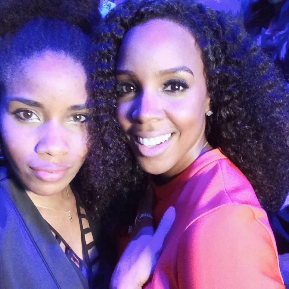 Ich mit der wunderschönen Kelly Rowland