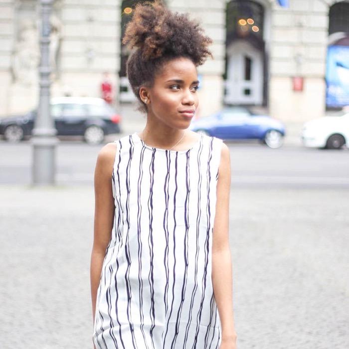 Streifenkleid Zara