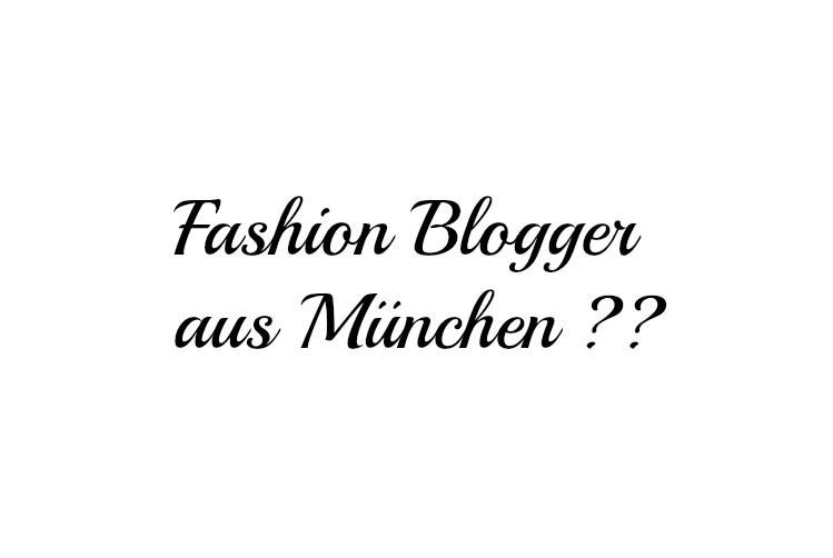 fashion Blogger aus München