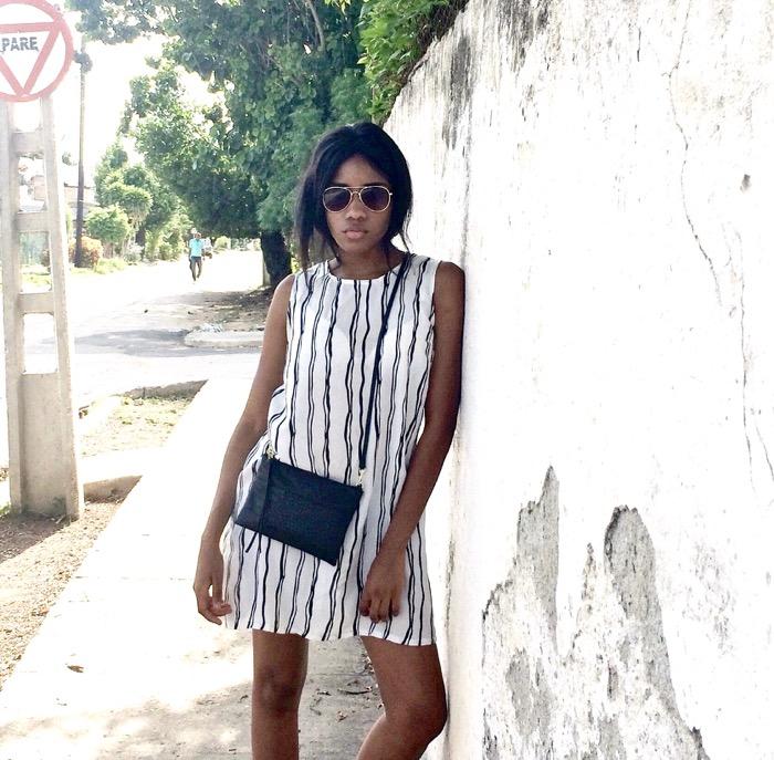 Fashionblog Berlin, Havanna Fashionblogger, Kuba Modeblog, Berlin Streifenkleid