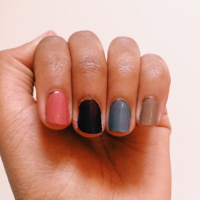 Nagellackfarben für den Herbst von Trend it Up von DM