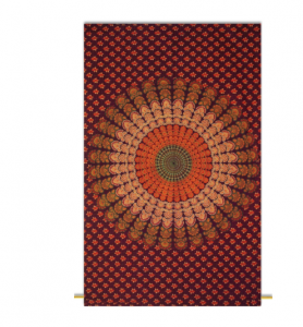 Mandala Wandteppich von Indianbeautifulart
