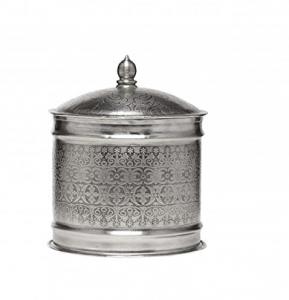 Metalldose mit Deckel Antik orientalisch