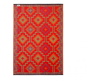 Teppich orientalisch, Wohnung im Boho Stil