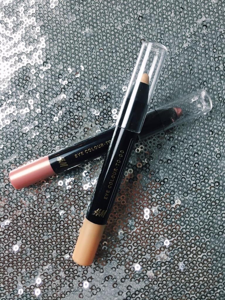 H&M Lidschattenstifte, H&M Beauty, beautyblogger, beautyblog