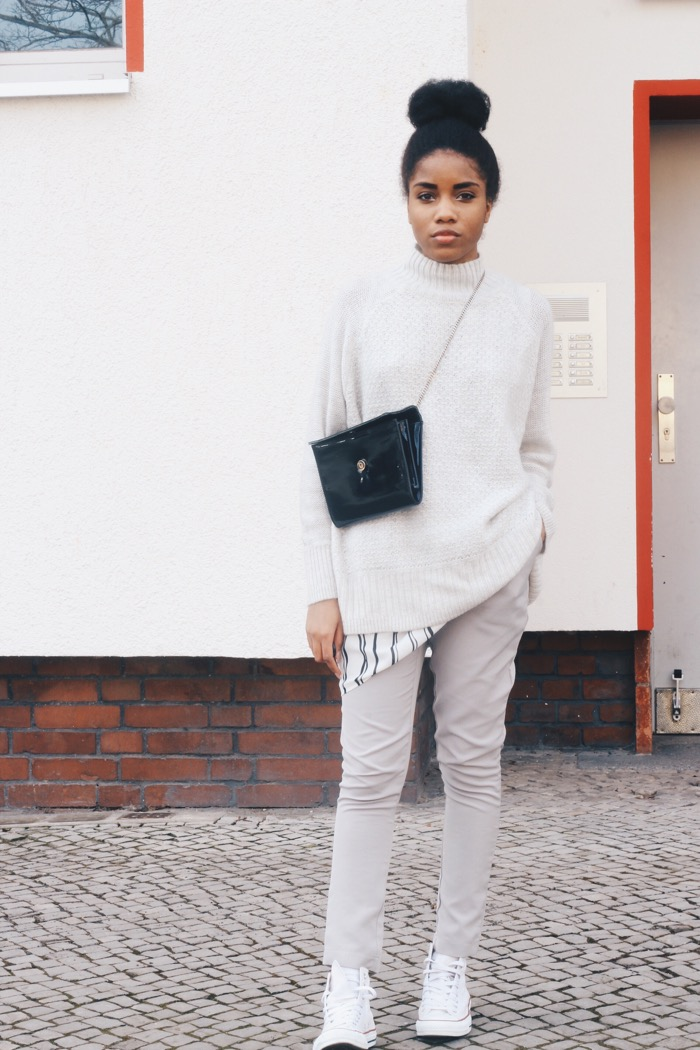 Lagenlook, Modeblog Berlin, Layering Trend, Fashion Blog, H&M Pullover, Zigarretenhose