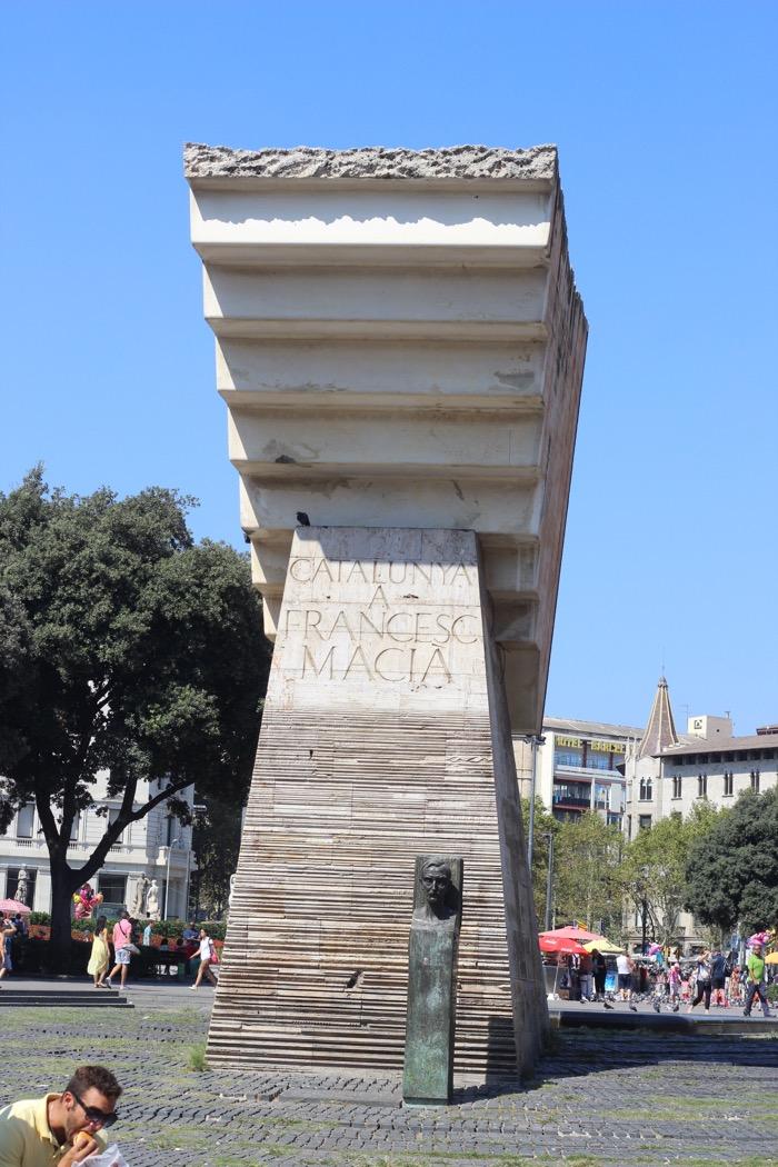 Tipps für Barcelona, Barcelona schöne Orte, Plaza Catalunya