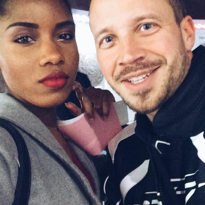 Max Florian Hoppe und Modebloggerin Nelly Negret