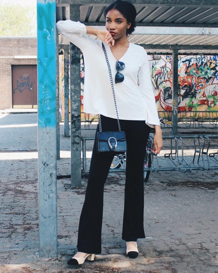 Ganz und zu Extrem Minimalistischer Stil: Weiße Bluse kombinieren @YA_47