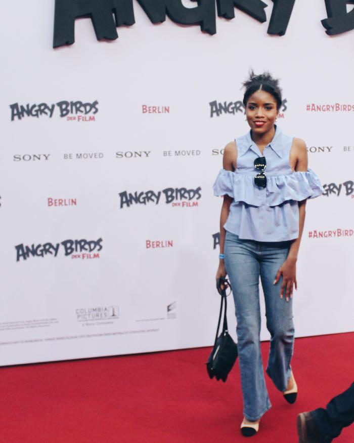 Angry Birds Premiere Berlin, Deutschlandpremiere, Modeblog Berlin, Zara Bluse
