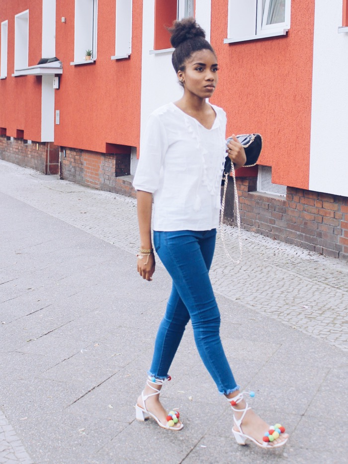 Modeblog Berlin, Modeblog Deutschland, aquazzura pom pom sandals