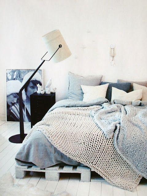 Bett aus Europaletten tutorial