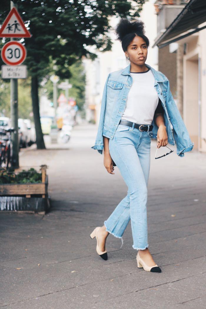 Jeansjacke zu jeanshose