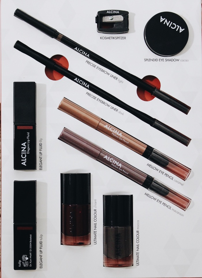 Alcina Beauty Herbst Winter Kollektion Make Up Mellow Eyepencil