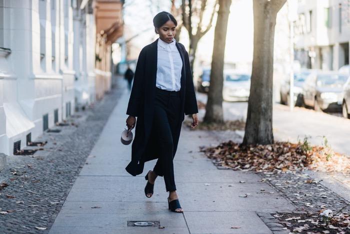 Business Kleidung für Frauen, Comptoir-des-Cotonniers-Bille-Coat-Fashionblogger-German