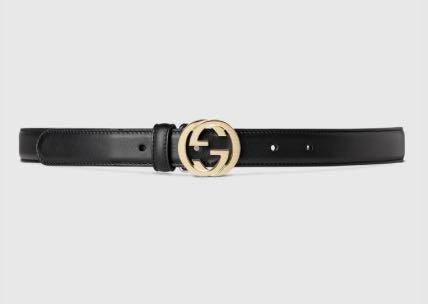 Gucci Gürtel mit doppelter GG Schnalle Bloggertrends