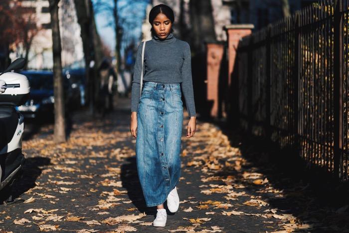 Influencer-Germany-Jeansrock-kombineren-Comptoir-des-Cotonniers-Streetstyle-Berlin-Fashion-Blog-Deutschland