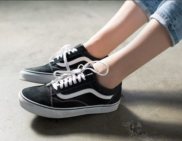 weisse vans old skool