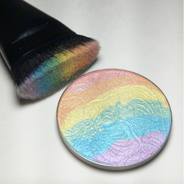 Regenbogen Highlighter, Unicorn Highlighter, Einhorn Schminke