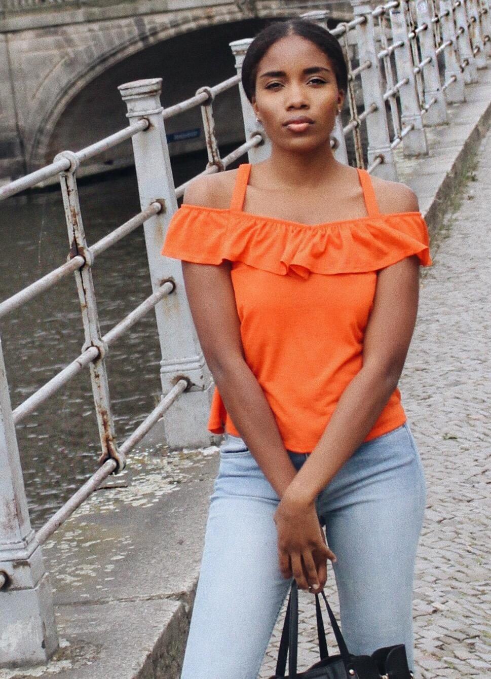 Beauty-Influencer-Germany-How-to-wear-Orange-Modeblog-Deutschland