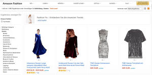 Amazon billig Kleidung shoppen