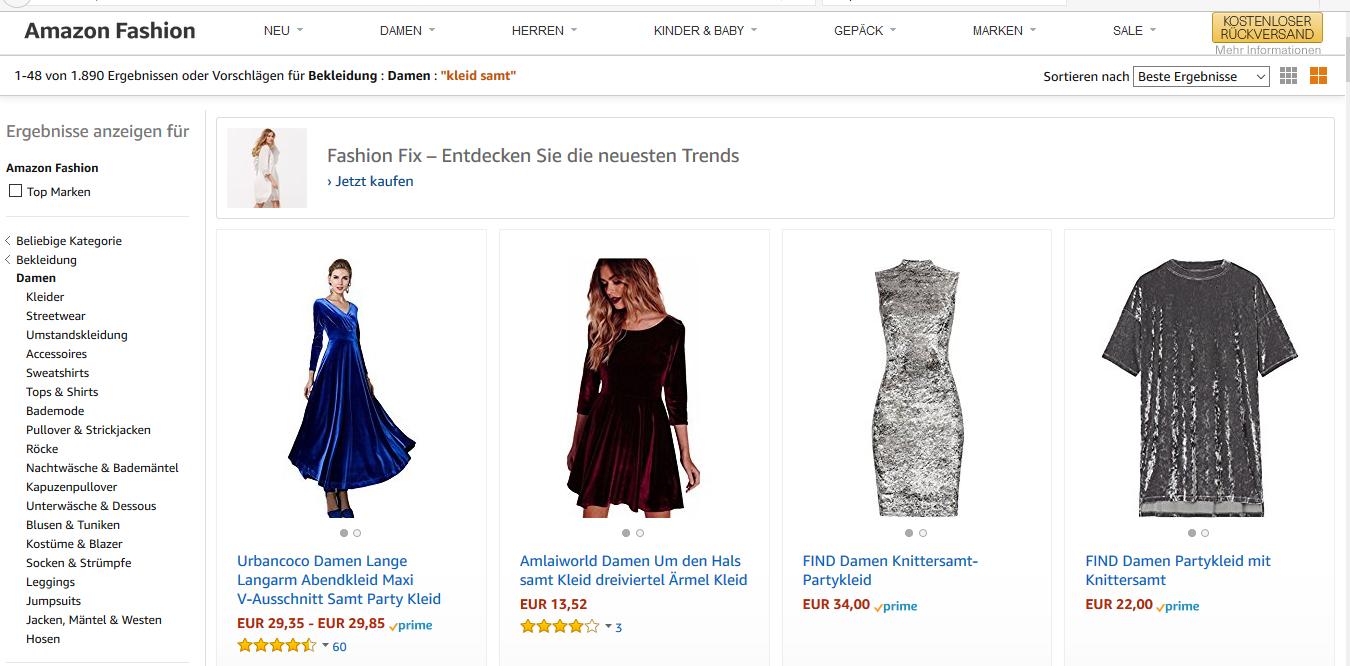 Amazon kleider rocke