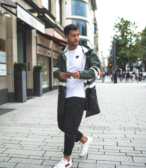 kosta Williams, male fashionblogger, male fashion trends 2017