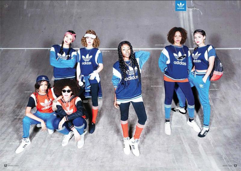 Adidas Originals Campaign, Fashion blogger