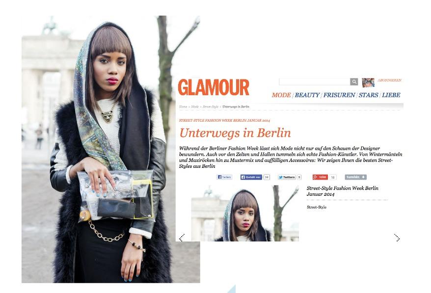 Modeblog Glamour, Fashionblogger