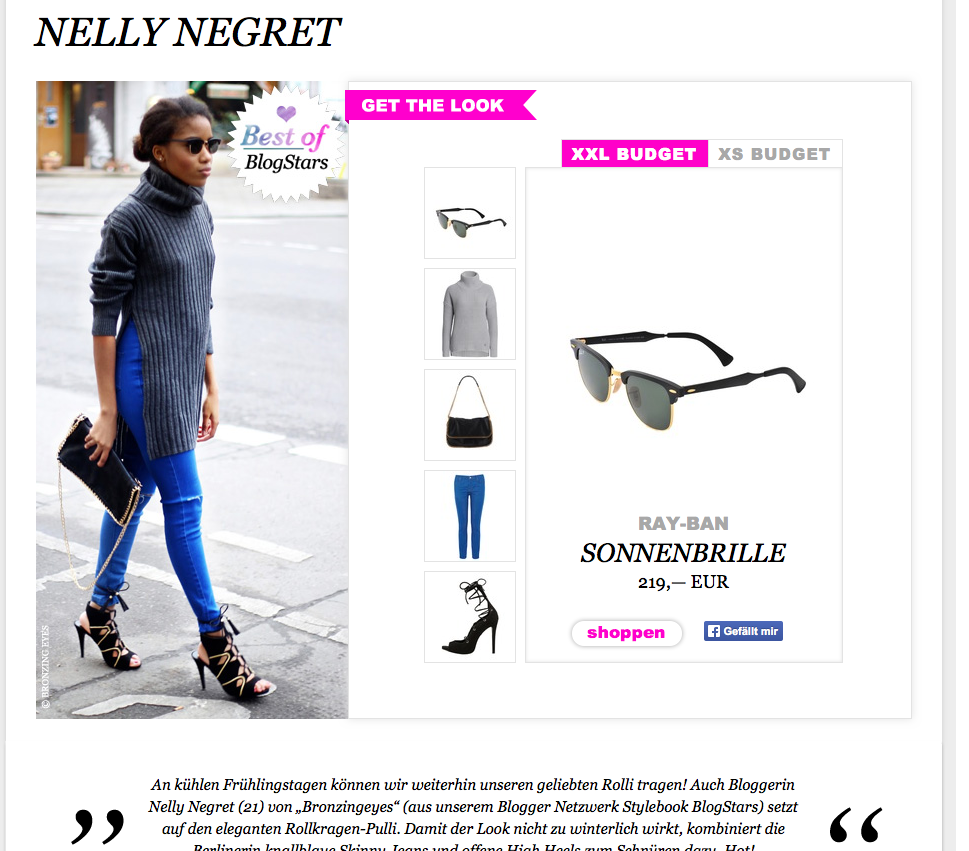 Stylebook blogger