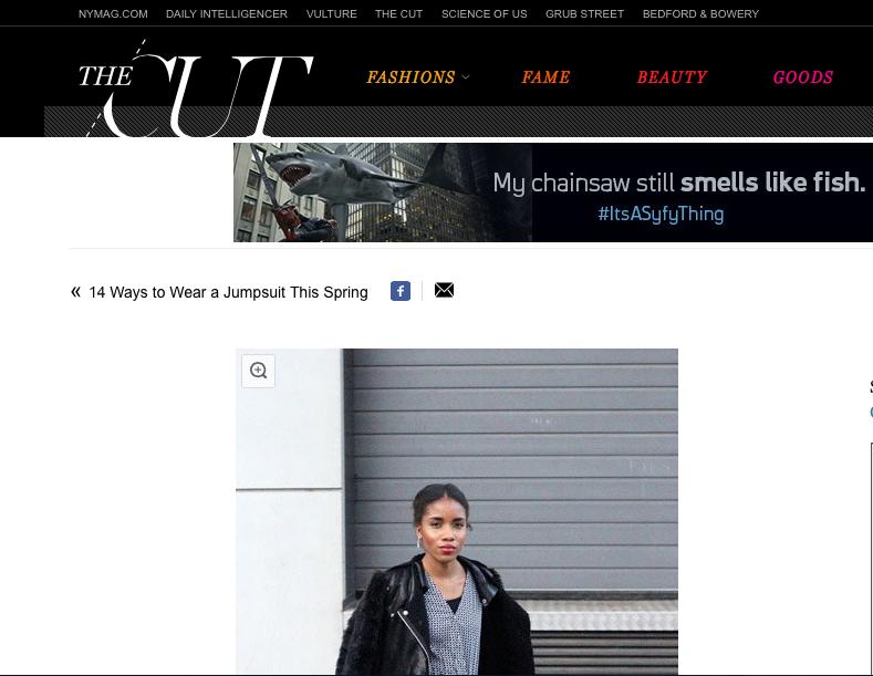 NYMAG Fashion Blogger