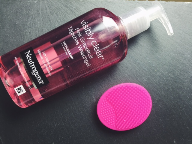 Neutrogenea Visibly Clear Waschgel, skin care favorite, beautyblog, beautyblogger berlin, produkte gegen unreine haut