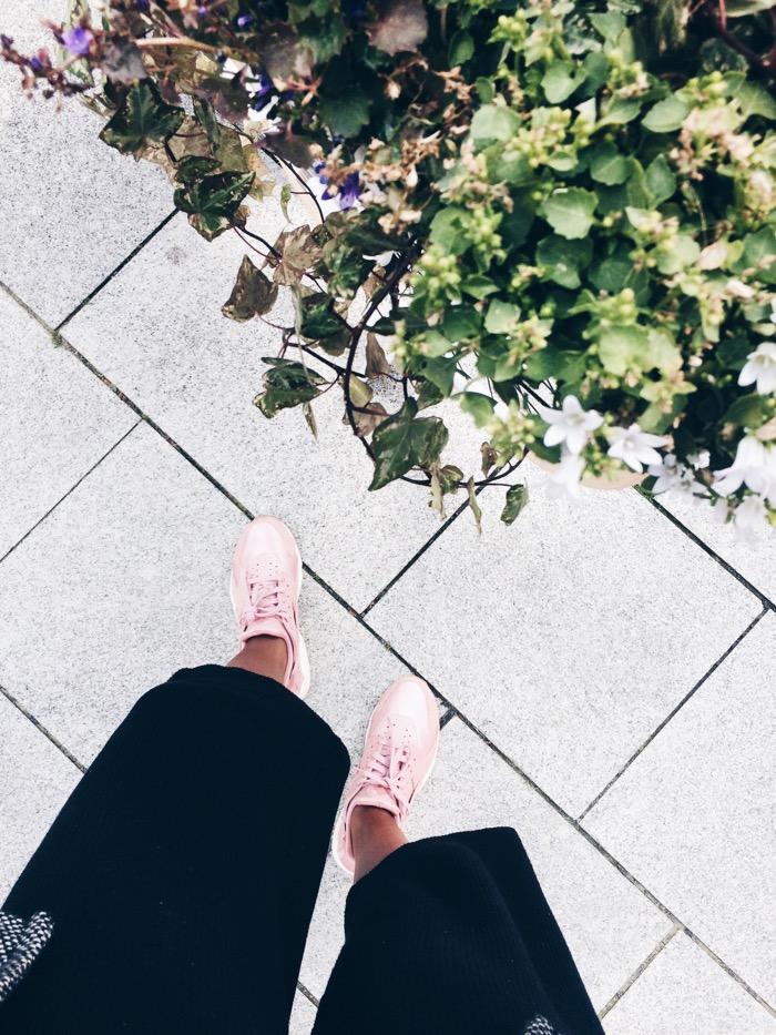 Nike-Air-Huarache-in-pink, Nike Air Huarache in Pink