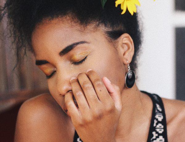 Beautyblogger Berlin, gelber Lidschatten, Lidschatten Gelb, Gelb Make Up Look