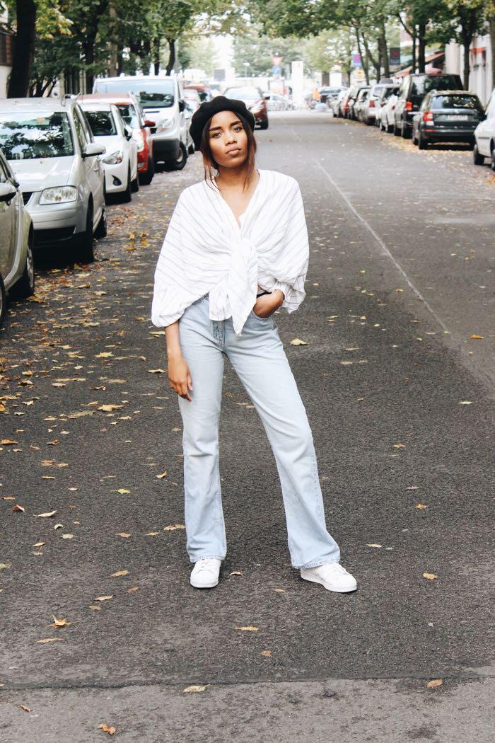 Baskenmütze, Influencer-Germany-Modeblog-Berlin-Frech-Girls-in-Berlin-Esprit-Mom-Jeans-Fashion-blog-Berlin-Mode-Blog-Berlin
