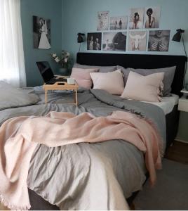 Interior Design Rose Schlafzimmer blogger
