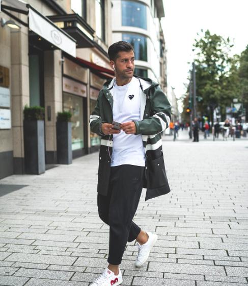 kosta Williams, male fashionblogger, male fashion trends 2017