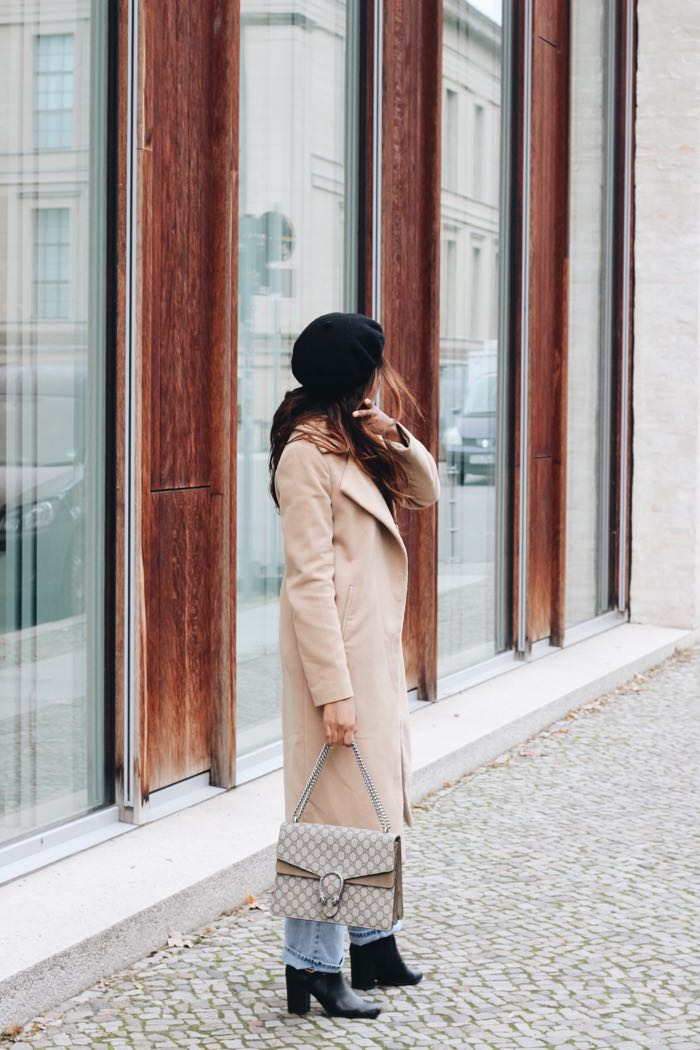 Gucci-Dionysus-Beret-Mütze-Baskenmütze-Camel-coat-how-to-wear